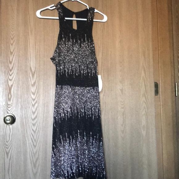 Sole Society Dresses New Social Code Black And Rose Gold Dress Poshmark